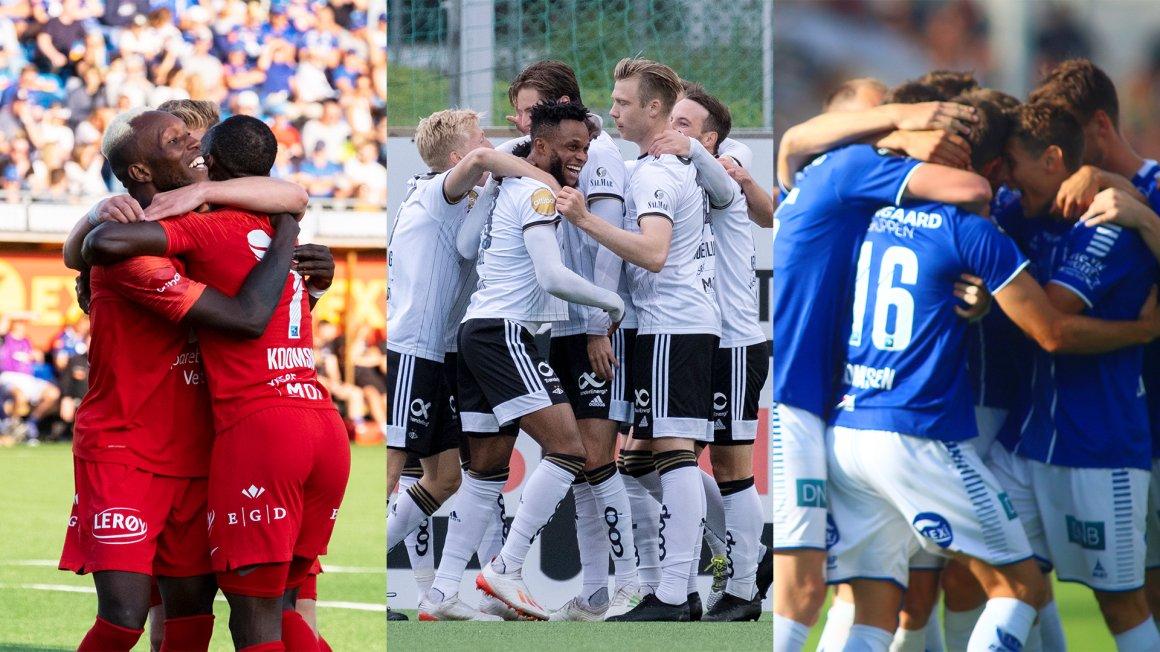 Eliteseriens første runder er klare!