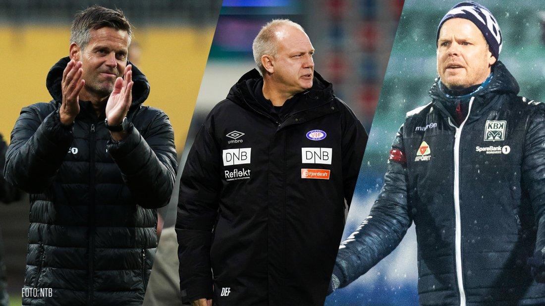 Eliteserien - 2020 - Nominasjoner - Årets trener