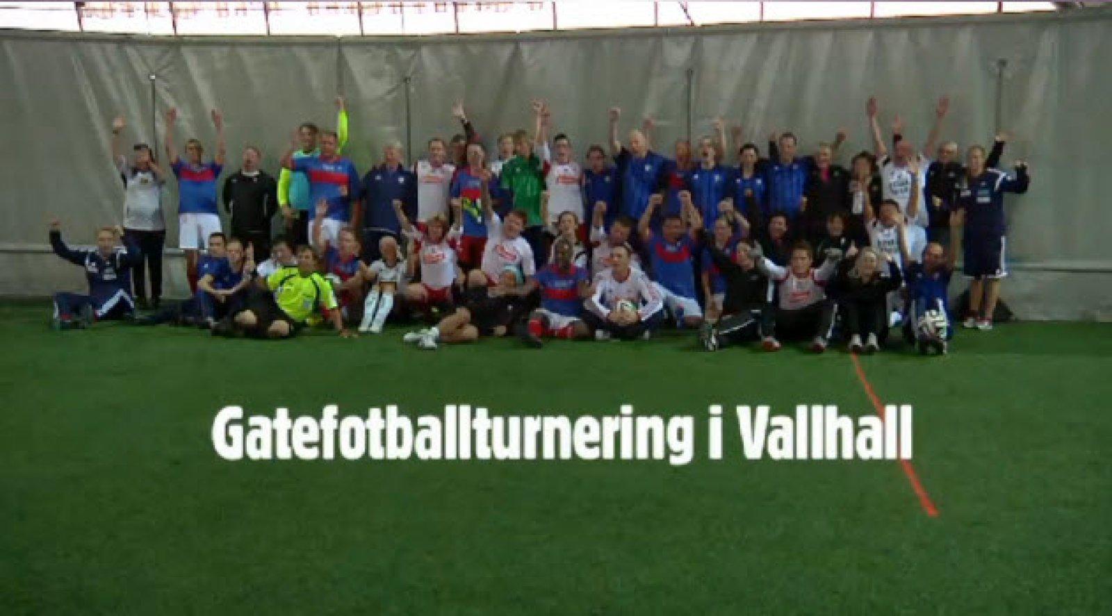 Gatefotballturnering i Valhall